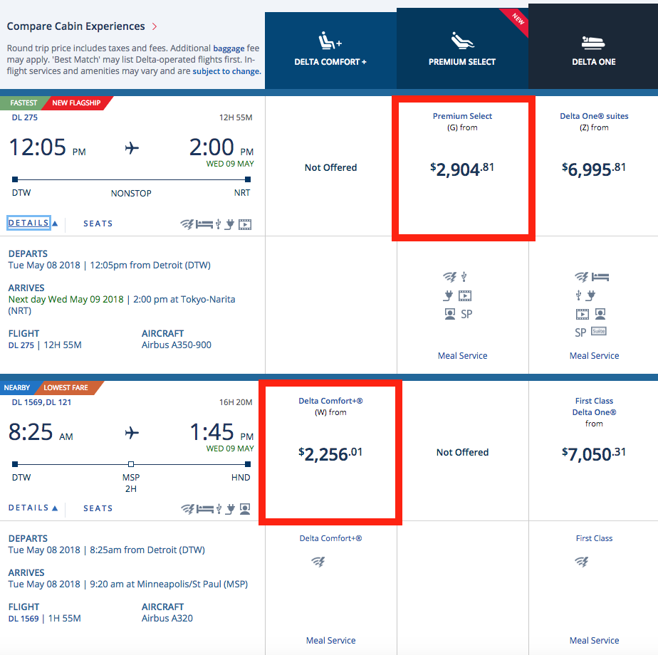 Delta Comfort+ Class: Review (Updated for 2018) – Time Zone