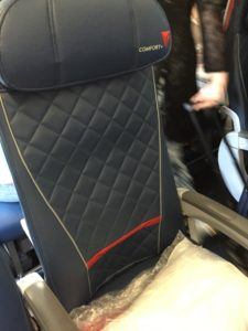 Delta's Comfort+ seat really does make sleeping a lot easier.
